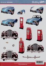 Hobby Idee knipvel auto's HI-0080 (Locatie: 2930)