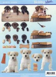Hobby Idee knipvel honden HI-0008 (Locatie: 5012)