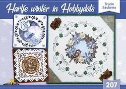Hobbydols nr 207 Hartje winter in Hobbydots