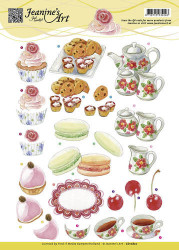 Jeanine's Art knipvel High Tea CD10820 (Locatie: 1577)
