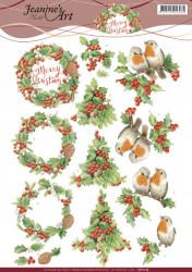 Jeanine's Art knipvel kerstmis CD11175 (Locatie: 4340)