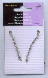 Ketting zilverkleur 3,5 mm 1 mtr. 12029-2001 (Locatie: K3)