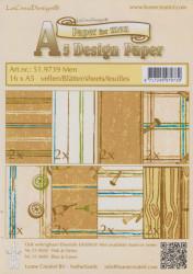 Le Crea Design, design paper, Men, A5 51.9739 (Locatie: s2)