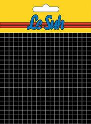 Le Suh foampads zwart 1.0 mm dik 508720 (Locatie: K2)