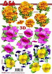 Le Suh knipvel bloemen 777398 (Locatie: 6618)