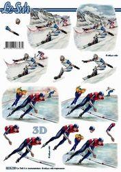Le Suh knipvel wintersport 8215709 (Locatie: 0345)