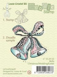 Leane Creatief clear stamp Bells Christmas/Wedding 550133 (Locatie: K107)