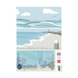 Marianne Design Eline's backgrounds ocean - papier AK0067 (Locatie: 1125)