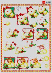 Marianne Design knipvel kerst 3DHM002 (Locatie: 6802)
