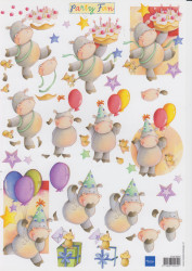 Marianne Design knipvel party fun FUN0004 (Locatie: 0503)