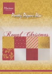 Marianne Design Pretty Papers Bloc Royal Christmas A5 PK9151 (Locatie: 1RA4)