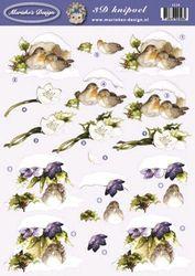 Marieke's Design knipvel vogels 2528 (Locatie: 0103)