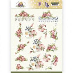 Precious Marieke knipvel Blooming Summer CD11312 (Locatie: 2923)