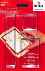 Rayher Acrylkubus voor Siliconen Stempel set van 3 2860500 (Locatie: 1RB2)