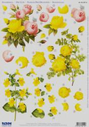 Reddy Creative Cards stansvel bloemen 82114 (Locatie: 1607)