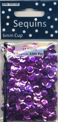 Sequins Regular Purple Cup 12212 1209 (Locatie: 1d )
