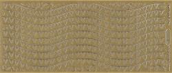 Starform sticker goud randje 1255 (Locatie: A258)