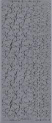 Starform stickervel randje zilver 1191 (Locatie: H199)