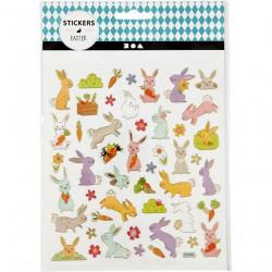 Stickers, vel 15x16,5 cm, pasen, 29065 (Locatie: 0520)