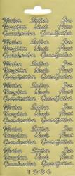 Stickervel goud 1236 (Locatie: e113)