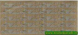 Stickervel goud Bonne Fete Maman nr. 4604 (Locatie: E188 )