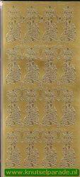 Stickervel goud condoleance nr. 896 (Locatie: U027 )