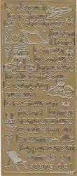 Stickervel met franse teksten (Locatie: A149)