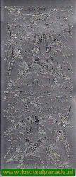 Stickervel zilver dino's DD5803 (Locatie: A216)