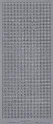 Stickervel zilver mozaïek 1038 (Locatie: U016)
