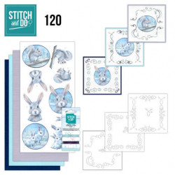 Stitch and Do 120 Artic friends STDO120