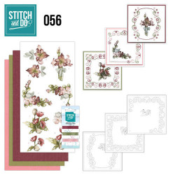 Stitch and Do 56 Fantastic Flowers STDO056