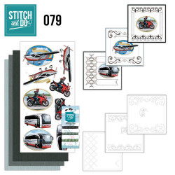 Stitch and Do 79 Daily Transport STDO079