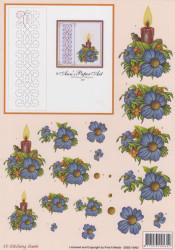 Stitching sheets bloemen 3DSS 10002 (Locatie: 1453)