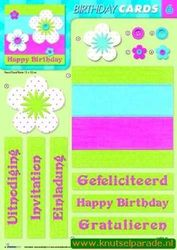 Studio Light Birthday cards 06 (Locatie: 947)