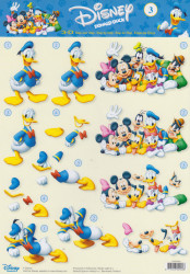 Studio Light knipvel Disney Donald Duck STAPDIS03 (Locatie: 2802)