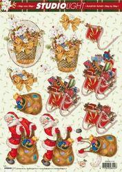 Studio light knipvel kerst stapsl1173 (Locatie: 1610)