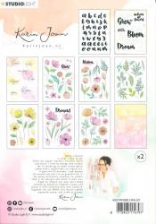 Studio Light stansblok A5 Karin Joan Blooming Collection A5STANSBLOKKJ01 (Locatie: S2)