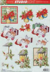 Studio Litght knipvel kerstmis STAPSL1046 (Locatie: 1214)