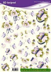 Voorbeeldkaarten knipvel bloemen 2275 (Locatie: 5936)
