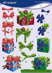 Voorbeeldkaarten knipvel kerst 2321 (Locatie: 6726)