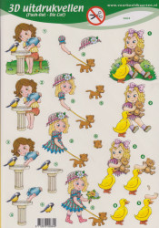 Voorbeeldkaarten stansvel kinderen 2664 (Locatie: 1117)