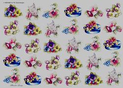 Wekabo knipvel bloemen 718 (Locatie: 2334)