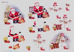 Wekabo knipvel kerstman 503 (Locatie: 5021)