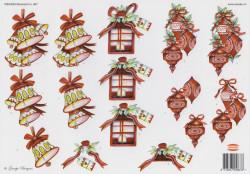Wekabo knipvel kerstmis 867 (Locatie: 1413)