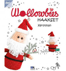 Wollowbies haakset - Kerstman