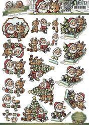 Yvonne Creation's knipvel kerst CD10403 (Locatie: 4802)