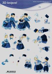 Voorbeeldkaarten klederdracht A5 nr. 186 (Locatie: 4324)