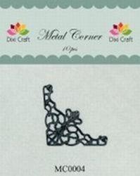 Dixi Craft Metal Corner 35x35 mm zwart 10 stuks MC0004 (Locatie: B372 )