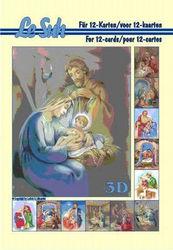Le Suh boekje A5 Kerststal 345642 (Locatie: KB)