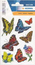 Herma stickers vlinders 3 vel 3801 (Locatie: U182)